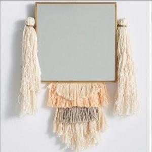 Anthropologie fringework mirror